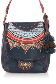 Isabella Fiore Tribal Paige Crossbody by Have-to-Have It: Handbags on @HauteLook