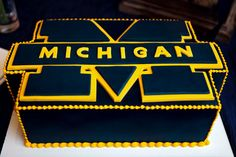 university of michigan grooms cakes - Google Search
