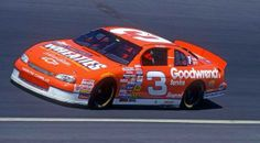 Dale Earnhardt commemorates his Wheaties Cereal box cover appearance with special General Mills sponsorship on his Chevrolet Monte Carlo, in the 1997 Winston All Star Race Nascar Autos, Nascar Race Cars, Nascar Memes, Nascar Sprint, The Intimidator, Classic Race Cars, Daytona 500, Dale Earnhardt Jr, Vintage Racing