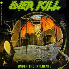 Overkill - Under The Influence #overkill #thrashmetal #heavymetal #metal #animatedcovers #gifs #animatedgifs #gifcovers