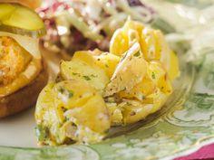 Smashed Potato Salad recipe from Trisha Yearwood via Food Network