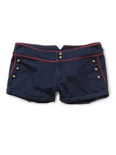 nautical shorts. want! #nautical #sailor #shorts #fashion