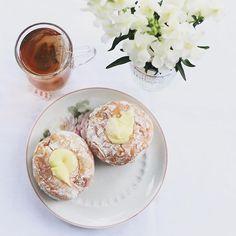 Doce, doce, doce. A vida é um doce. ✨  #sweet #food #tea #flowers