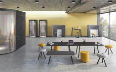 NET.WORK.PLACE Organic - König + Neurath AG Büromöbel-Systeme