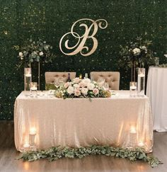 Wedding Reception Backdrop, Wedding Centerpieces, Wedding Table, Head Table Wedding Decorations, Sweet Heart Table Wedding, Wedding Ideas, Tall Centerpiece, Wedding Backdrops, Ballroom Wedding