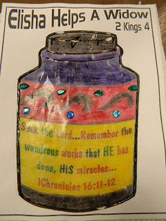 Hands On Bible Teacher: Elisha and the Widow