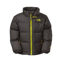 TNF Toddler Nuptse II Jacket (Graphite Grey)