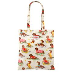#CKCrackingChristmas Sausage Dog Kids Pocket Book Bag | Cath Kidston |