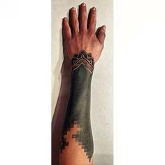 Olivier senesael. Done by Aleksandar graoroski-grav @ Nail's tattooshop, Oostende, Belgium  Blackwork, dotwork, dotting, blacksleeve, geometry, geometric, mandala tattoo