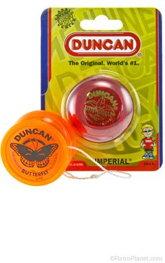 Butterfly and Imperial Yo-Yos Set...$9.99 from retroplanet.com