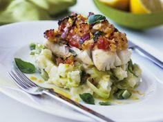 Gratinierter Kabeljau mit Kartoffel-Lauch-Püree ist ein Rezept mit frischen Zutaten aus der Kategorie Meerwasserfisch. Probieren Sie dieses und weitere Rezepte von EAT SMARTER!