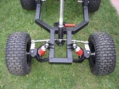 Gas power wheels jeep - DIY Go Kart Forum Mini Bike, Mini Jeep, Build A Go Kart, Diy Go Kart, Mini Buggy, Carros Rc, Go Kart Steering, Power Wheels Jeep, Homemade Go Kart
