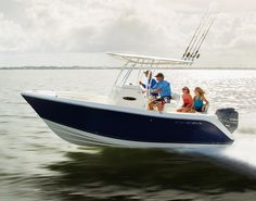 Cobia Boats' 201CC has a variable-deadrise hull that terminates at 20 degrees at the transom, which limits the side-to-side rolling. The company also raised the freeboard to provide a feeling of security, yet anglers can still land big fish at the transom.
