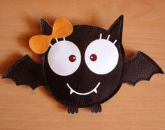 Bat Girl Purse Trick or Treat van lovelia op Etsy