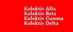 Kolektiv fonts