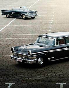 Russian presidential Limos - 1958 Zil 1124's - photo by alexfas