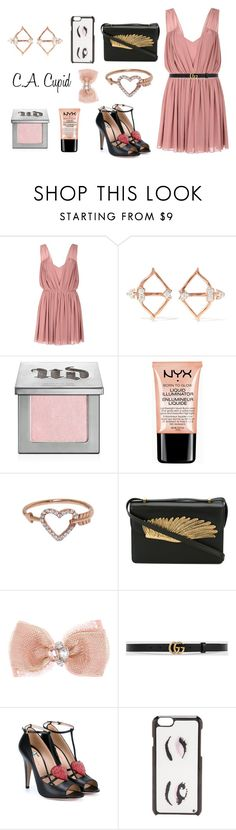 """""""C.A. Cupid"""" by freckled-gypsy on Polyvore featuring Glamorous, Aamaya by priyanka, Urban Decay, NYX, Eternally Haute, Alexander McQueen, Monsoon, Gucci and Kate Spade"""