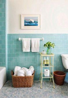 11 mejores imágenes de Como pintar los azulejos del baño | Bathroom ...