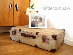 Maleta de viaje antigua Ref. M22 ** Buy vintage suitcase for decor