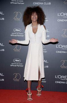 Fashion fan blog from industry supermodels: TINA KUNAKEY at L'Oreal 20th Anniversary Party at ...