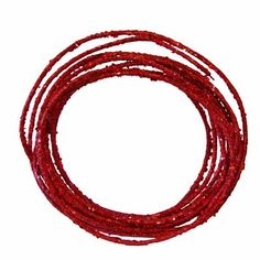 Glamour Rope Red Glitter Roping Decoration 25 feet 5mm Sequins, glitter, wired Making Bows, Wreath Making, Christmas Tree Decorations, Christmas Trees, Holiday Decor, Red Glitter, How To Make Wreaths, How To Make Bows, Wreath Supplies