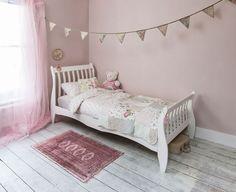 Noa and Nani Astrid Single Sleigh Bed  | £108.99 | #SingleBed #Furniture #HomeDecor