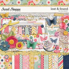 Lost & Found Digital Scrapbooking Kit by Zoe Pearn http://www.sweetshoppedesigns.com/sweetshoppe/product.php?productid=23108 $7.99
