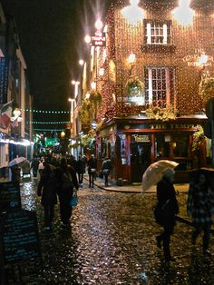 Temple Bar, Dublin Ireland - this one is high up on my to-do list