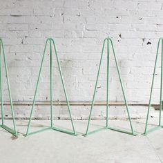 Tischbeine  HomeMade Modern Trestle Table Legs, Mint (Set of 4)