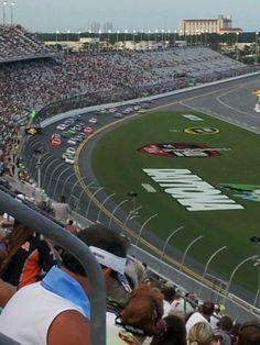 Daytona International Speedway in Daytona Beach, FL #States #Florida