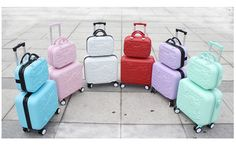 Cheap luggage suitcase, Buy Quality luggage sets directly from China quality luggage sets Suppliers: Wholesale!Girls cute 14 16 abs hello kitty travel luggage sets,high quality female lovely travel luggage suitcase on wheels Travel Luggage, Luggage Bags, Travel Bags, Luggage Suitcase, Pink Luggage, Vacation Packing, Packing Tips For Travel, Travel Essentials, Luggage Sizes