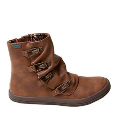Look at this #zulilyfind! Whiskey Old Saddle Chippy Ankle Boot by Blowfish Malibu #zulilyfinds