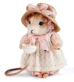 (via Little Miss Muffet by R. John Wright | Tiny Treasures ♥)