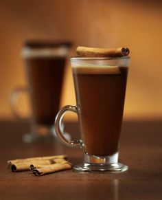 HOT CARAMEL BUTTERED RUM  3 oz Ron Abuelo Añejo 1 oz Van Gogh Dutch Caramel Vodka 2 Tbsp stick Unsalted Butter, softened 2 Tbsp Brown Sugar 2 Tbsp Honey 1 tsp Ground Cinnamon 1/2 tsp Ground Cloves 1/2 tsp Nutmeg Cinnamon Stick  Add all ingredients (excluding rum and vodka) into a hot drinking cup or mug. Mix the ingredients together until they are well combined and have formed a batter. Add Ron Abuelo Añejo rum and Van Gogh Dutch Caramel Vodka. Pour in hot water (1 cup or more to personal…