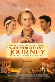 The Hundred-Foot Journey (2014) - The Kadam family leaves India for France where they open a restaurant directly across the road from Madame Mallory's Michelin-starred eatery.