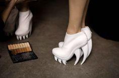 teeth/fang shoes?