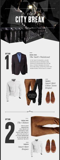 The Capsule Wardrobe | Men's must-have The City Break – Debenhams Blog