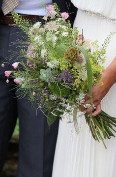 floriculture: wildflower bouquets