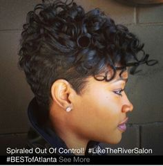Black Short Curly Hairstyles Fair 20 Short Curly Hairstyles For Black Women  Pinterest  Curly