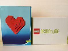 RETIRED NEW Lego DesignByMe Custom Set Red HEART One Of A Kind  #LEGO