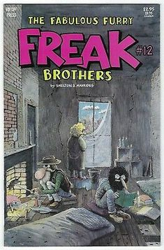Fabulous Furry Freak Brothers # 12 VF/NM Rip Off Press (1992) | eBay Comic Books For Sale, Smoking Weed, Underground Comics, Teen Titans, Comic Art, Modern Art, Brother, Geek Stuff, Rock Bands