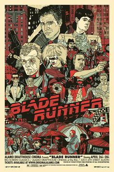 Póster alternativo de Blade Runner