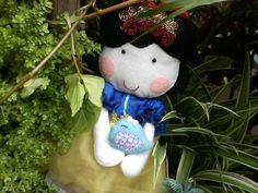 Boneca Branca de Neve em feltro