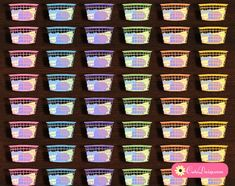 Free Printable Laundry Basket Stickers