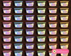 Free Printable Laundry Basket Stickers