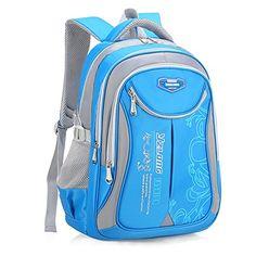 f57af325d3 Buy Bageek School Backpack Boys Bookbag Casual Daypack Bookbag Kids School  Bag (sky Blue) online