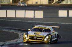 Erfolgreicher Start in die Motorsportsaison 2013 für AMG Kundensport: SLS AMG GT3 wiederholt Vorjahreserfolg beim 24 Stunden-Rennen von DubaiFotonummer: 13C1_08 Dateigröße: 3,027 MB Dateigröße, niedrig: 0,015 MB Datum: 14.01.2013