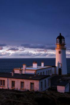 Tiumpan Head Lighthouse, Scotland-by Pat