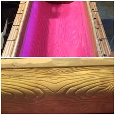 Silicone mat used for wood grain texture Wood Grain Texture, February 2016, Winter Wonderland, Challenges, Soap, Neon Signs, Soaps, Bar Soap