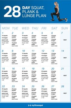Fitness This plan keeps things simple utilizing just three basic moves with a plyometric challenge thrown in every other day. - This plan keeps things simple utilizing just three basic moves with a plyometric challenge thrown in every other day. Lunge Challenge, 60 Day Challenge, Workout Challenge, Health Challenge, Challenge Ideas, The Plan, How To Plan, My Fitness Pal, Fitness Tips